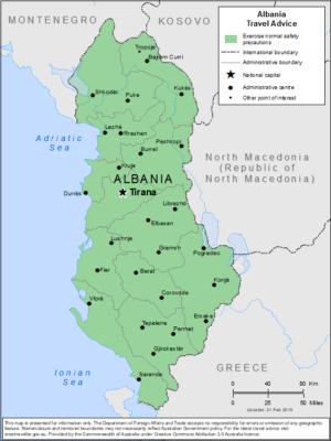 アルバニア治安最新情報(2020年11月) | 海外安全.jp|自立的な海外 ...